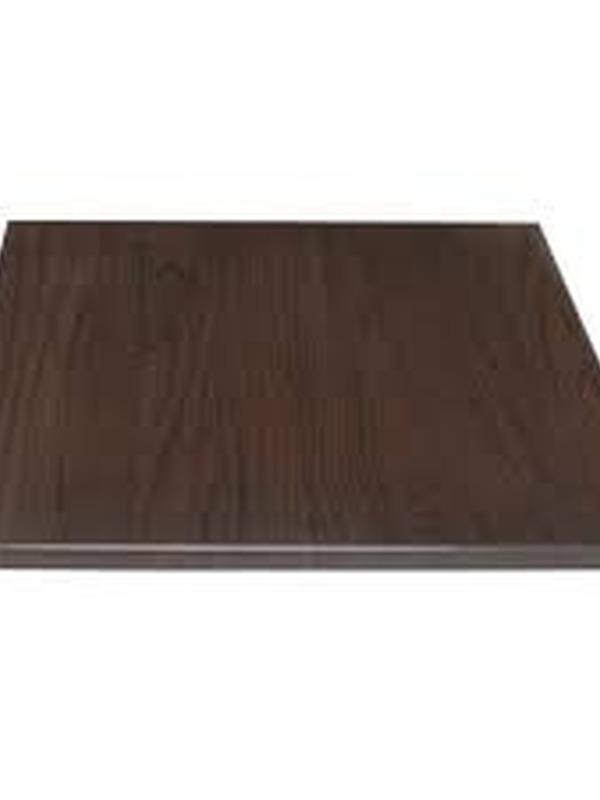 Bolero vierkant tafelblad 70x70