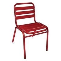 Stapelbare aluminium stoel  (set van 4 )