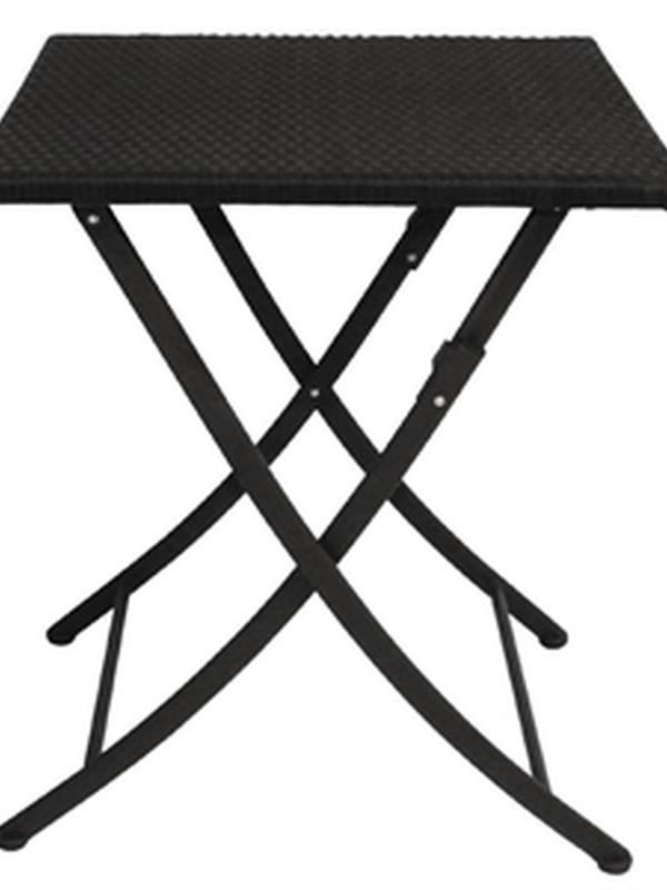Opklapbaar ROTAN tafel