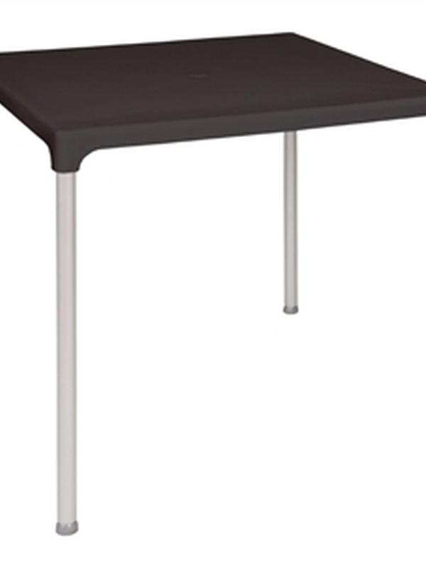 Vierkante bistro tafel