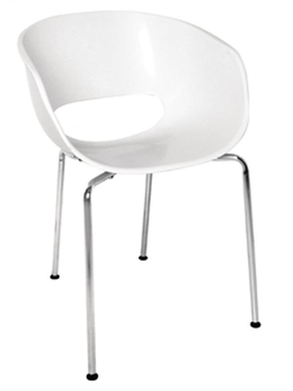 Kuip stoel (set van 4)
