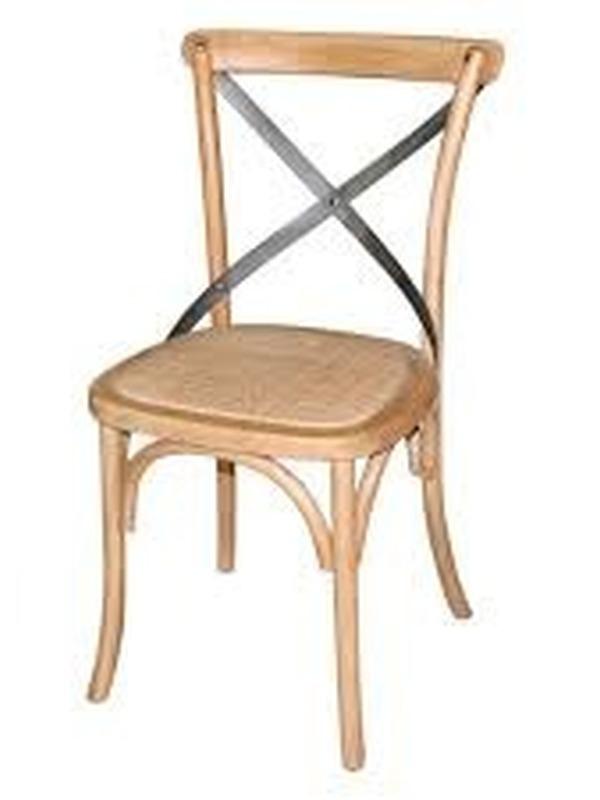 Houten stoel (set van 2)