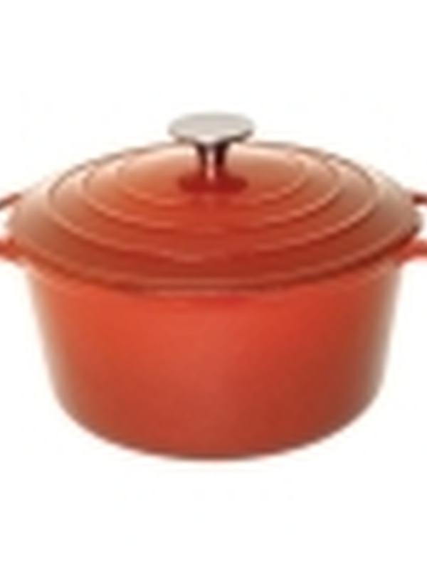 Gietijzeren ronde braadpan