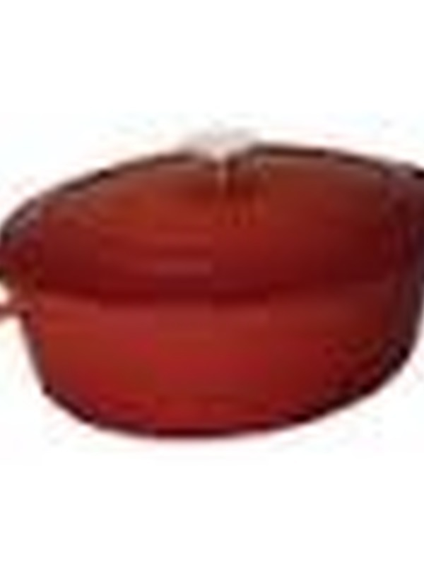 Gietijzeren ovale braadpan