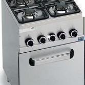 Gas Fornuizen met oven