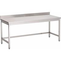 Werktafel met opkant 120x70cm