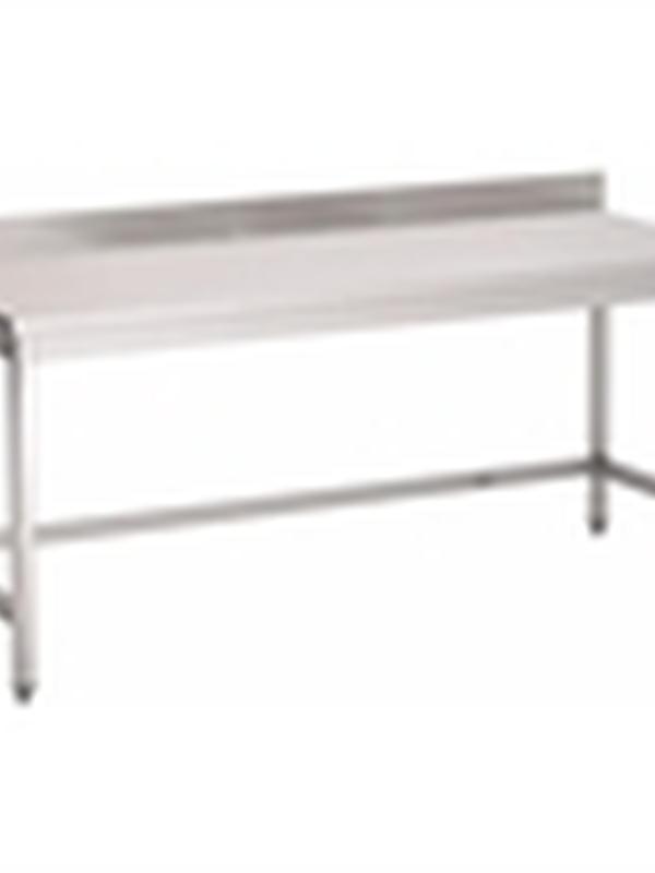 Werktafel met opstand 140x70cm