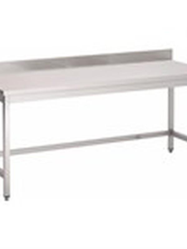 Werktafel met opkant 200x70cm