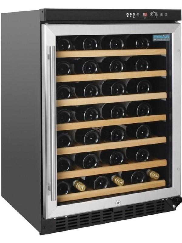 Polar wijnkoeling Single zone 54 flessen - CM359