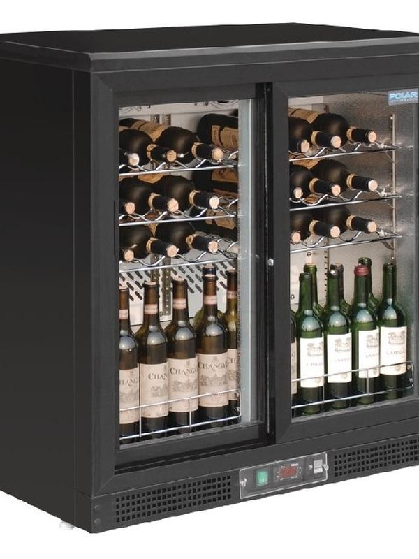 Wijnkoeling klap-/ Schuifdeuren 56 flessen