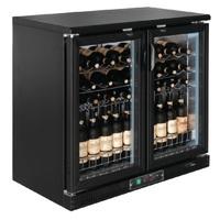Wijnkoeling met Schuifdeuren 56 flessen - GH131