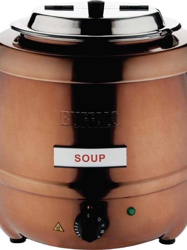 Soepketel Koperkleurig
