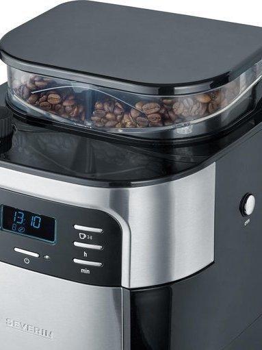 Koffiezetapparaat met koffiemolen