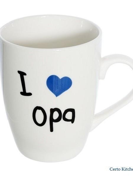 """Beker """"I LOVE OPA"""""""