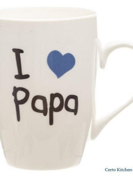 """Beker """"I LOVE PAPA"""""""