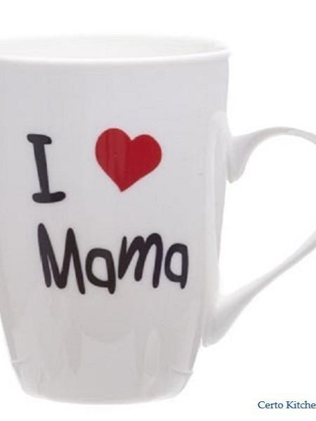 "Beker ""I LOVE MAMA"""