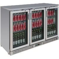 BAR koeling RVS/3 deuren 92.5(h)