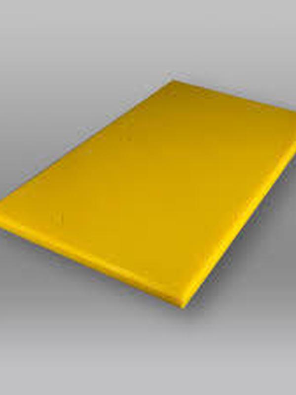 Snijplanken LDPE 12mm GEEL