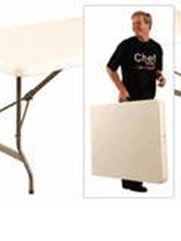 Inklap- en opvouwbare tafels 244cm