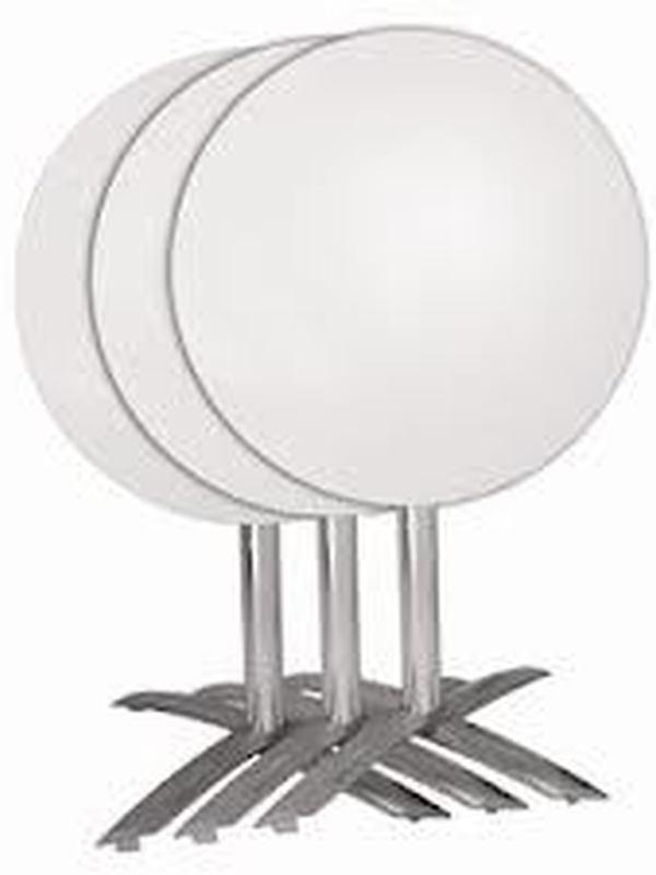 Opklapbaar aluminium tafelpoot