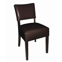 Ruige stoel /DONKERBRUIN