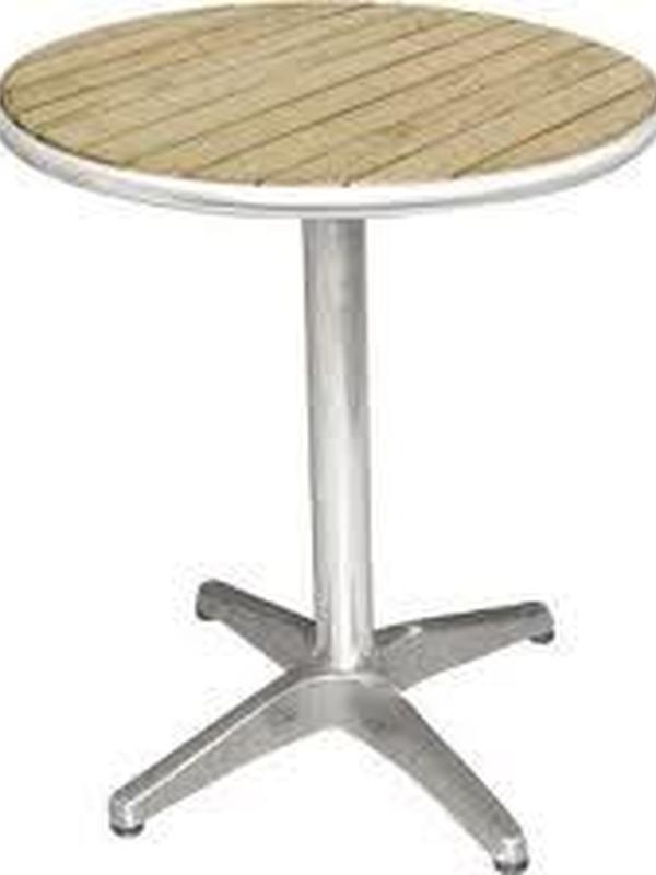 Essenhout tafel 60diameter