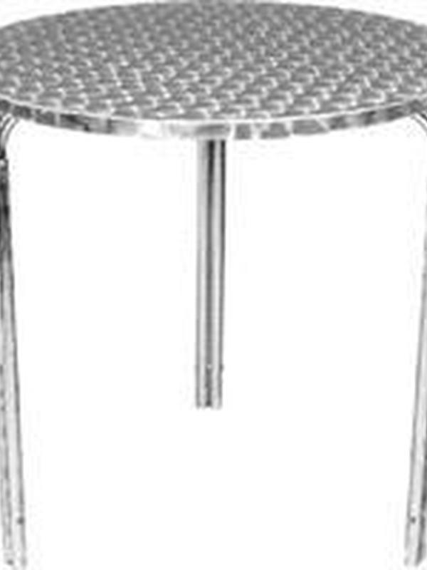 Stapelbare RVS tafels 60diameter