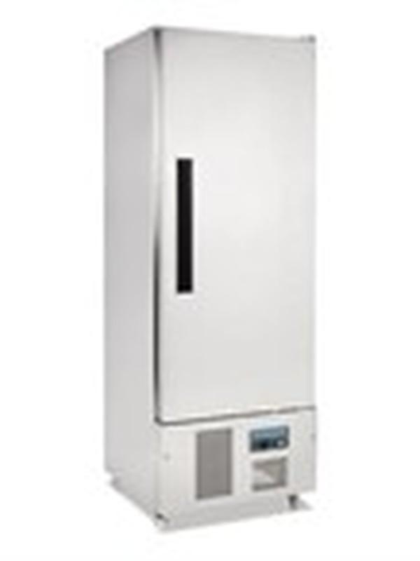 Polar 1-deurs smalle RVS koeling 440ltr