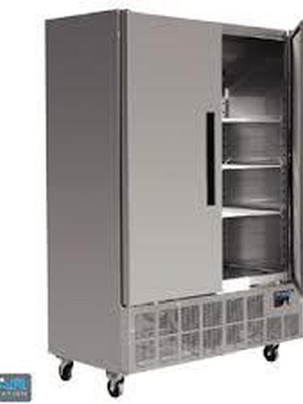 RVS slimline koeling 960 liter