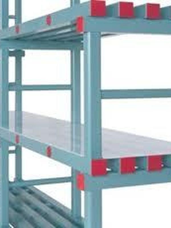 Koelcel rek/ REA 120x40cm
