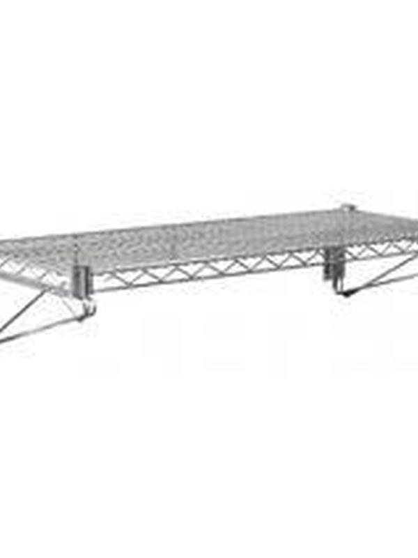 Draad wandplank 61x36cm