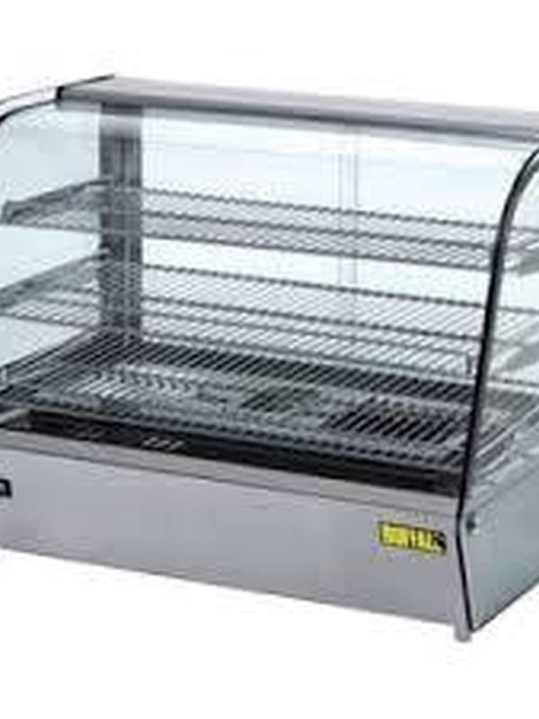 Warmhoud vitrine 160 liter