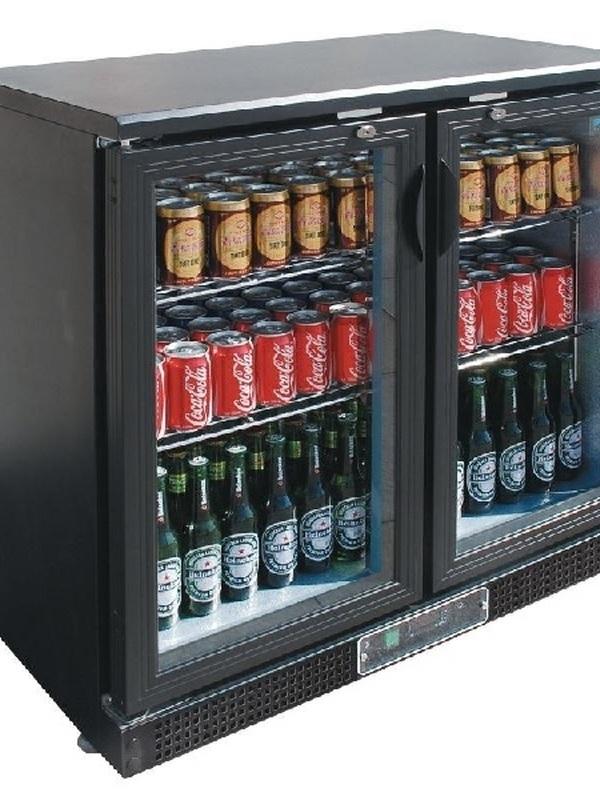 Bar koeling klapdeuren/dubbel 87(h) - DP287