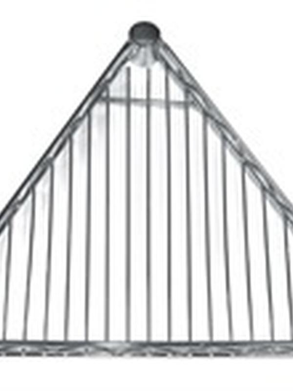 Driehoekige schappen 61cm